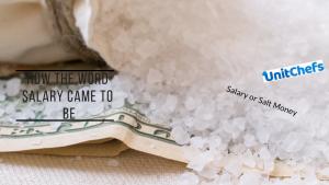 salary salt money